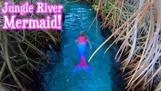 Mermaids swimming in the Jungle!