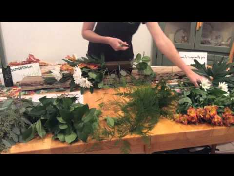 How to make a flower arrangement. Large easy inexpensive full how to