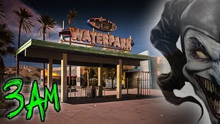 HAUNTED ABANDONED WATERPARK AT 3AM - WTF DID WE FIND?!?! 😱