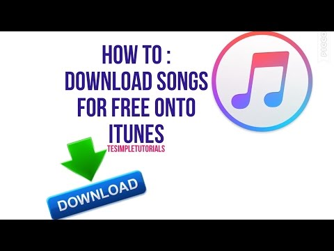 How To : Download Songs for FREE onto iTunes