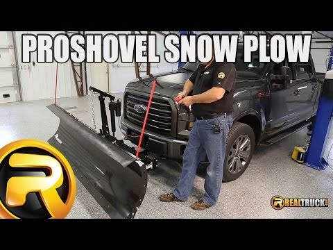 How to Install SnowBear ProShovel Snow Plow