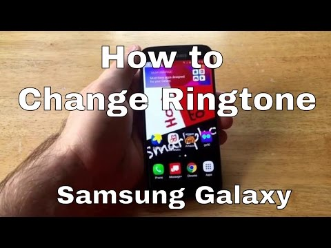 Samsung Galaxy S7- How to change ringtone