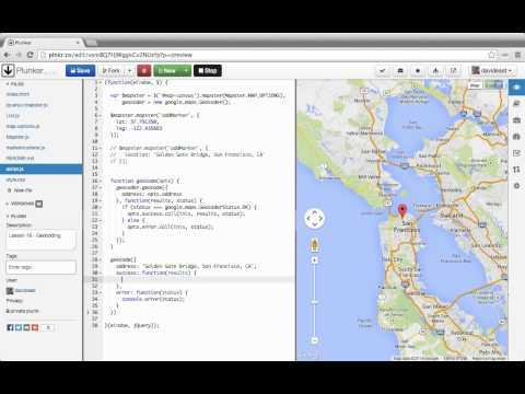 Custom Interactive Maps with the Google Maps API 16 Geocoding