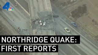 Download Northridge Earthquake (1994) | First Reports | NBCLA Video