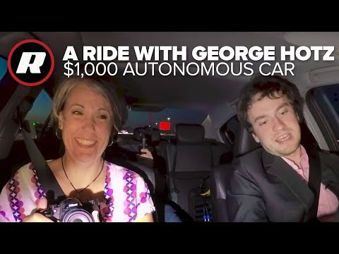 We go riding with George Hotz and his $1,000 autonomous car