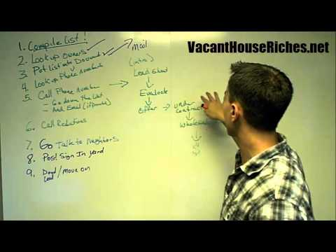 Vacant House Riches how to Find Homewoners