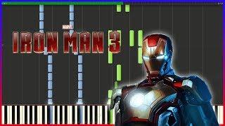 Iron Man 3 - Main Theme | Piano Tutorial