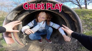 CHUCKY VS PARKOUR IN REAL LIFE | CHILD'S PLAY