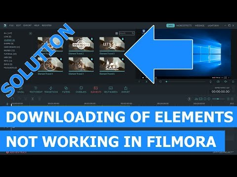 Downloading Of Elements Not Working In Filmora? (Easy Solution)