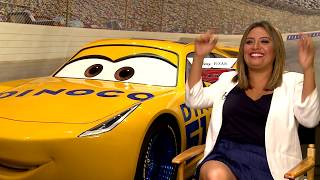 Backstage with Cristela Alonzo for CARS 3