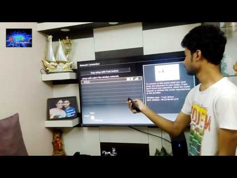 how to connect your panasonic viera  to wifi network