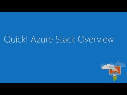 Microsoft Azure Stack Development Kit and why it matters - BRK3088