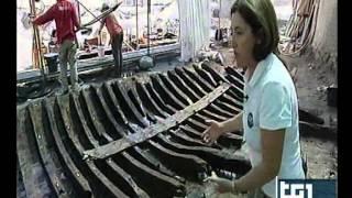 ANTIBES - LA NAVE DELLA ROMA IMPERIALE DEL III SECOLO