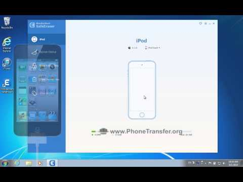 How to Remove App Generated Junk Files from iPod Touch by SafeEraser?