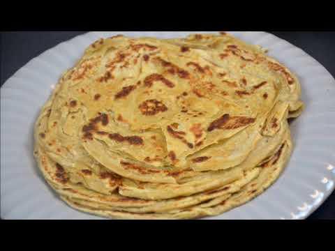 15 layers paratha | Chur Chur Paratha | Multilayered paratha