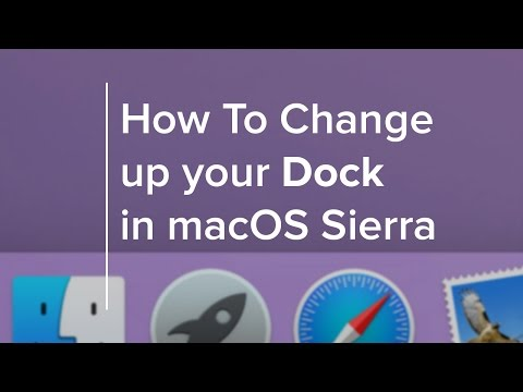 How to Change up Your Dock in macOS Sierra and Beyond
