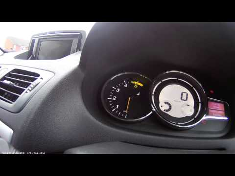 How to change miles to km on renault megane 1.5 dci /2012