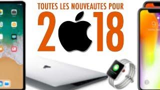 Apple Watch Series 4, iPhone, MacBook, iPad Pro ... Ces Nouveautés vont vous Surprendre !