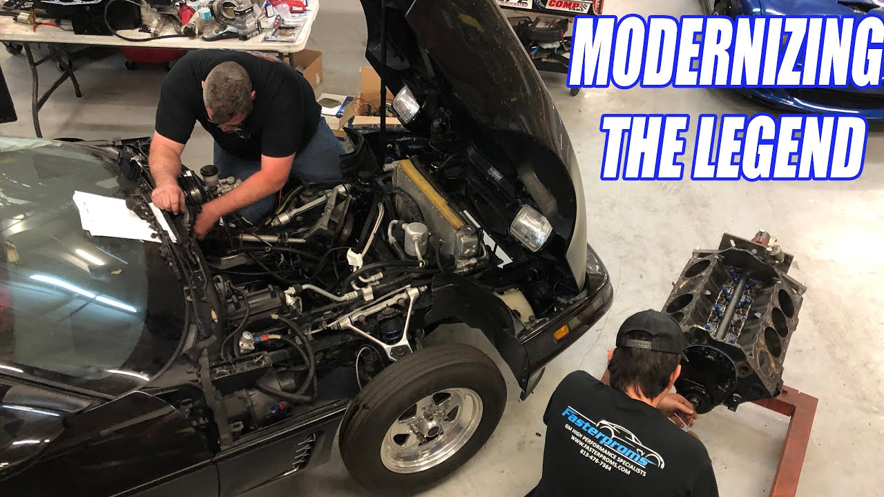 Rebuilding My Fathers Legacy Corvette The Legend IS BACK!