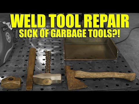 🔥 Welding Tool Repair (with the Everlast 250EX)