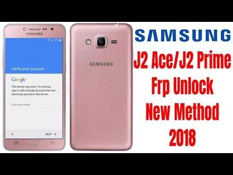 Samsung J2 Ace/J2 Prime Frp Unlock Bypass Google Account Lock New method