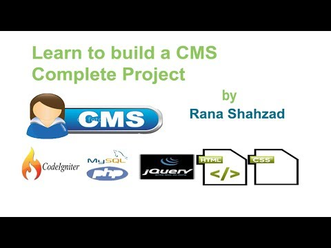 how to make CMS in codeigniter( tutorial_38) View Products