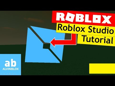 How To Use Roblox Studio 2017 - Beginners Tutorial