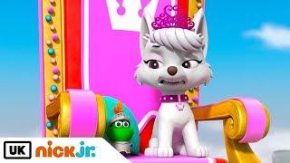 Paw Patrol | Pups Save the Royal Throne Part 1 | Nick Jr. UK