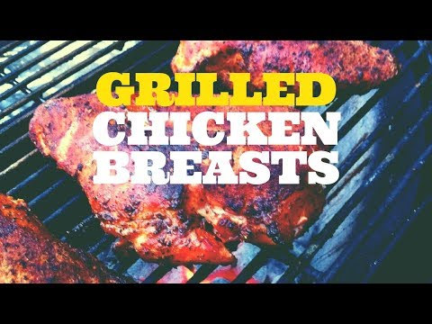 Grilled Chicken Breasts - Reverse Sear Method on the Weber Kettle Grill with the Slow 'N Sear