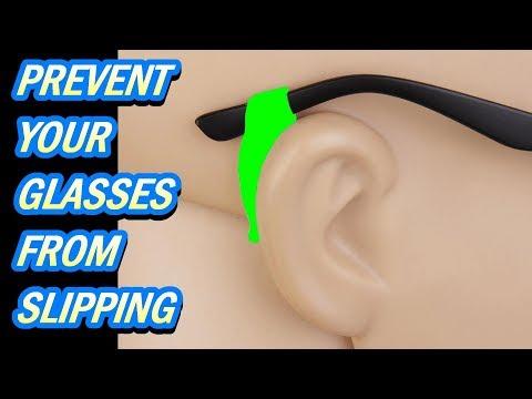 Eyeglass Silicone Ear Hooks no more slipping glasses