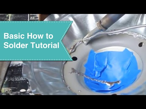 Basic How to Solder Tutorial