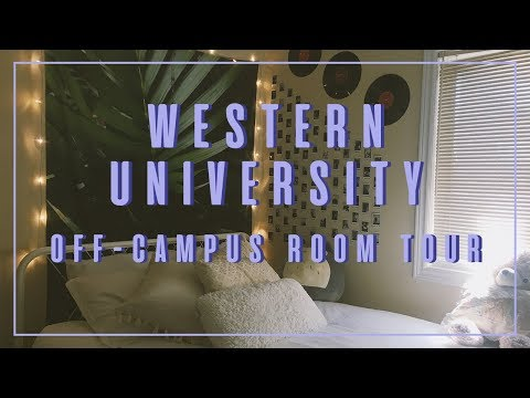 Western University Off-Campus Room Tour 2018