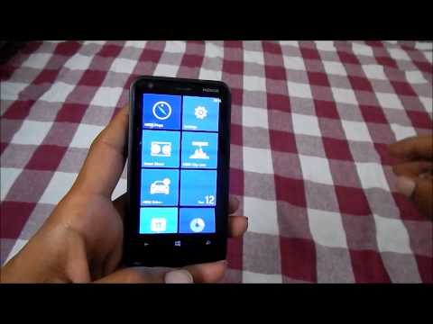 Taking screen shot in Nokia Lumia Smartphone