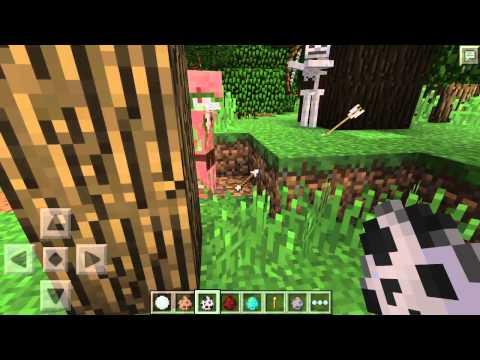 Minecraft PE Games #4-Fun Time