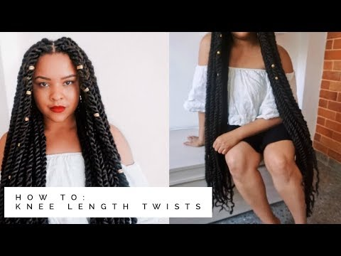 How To | KNEE LENGTH Bohemian Twists (Non Tutorial)