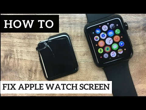 HOW TO GUIDE: Cracked Apple Watch Series 1 Gen 42mm Glass Screen Replacement Full Repair Tutorial