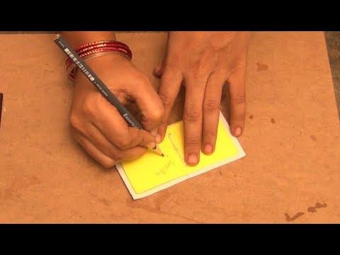 DIY Mini Paper Note Book | How to Make a Paper Bookmark