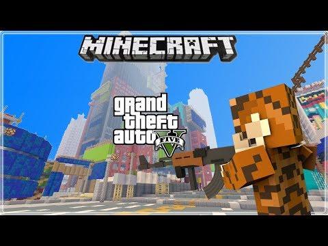 Minecraft Xbox 360/Xbox One/PS3/PS4/Wii U/Switch Modded GTA 5 Map Download