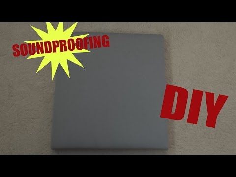 [Tutorial] Soundproofing DIY On a Budget (CHEAP)