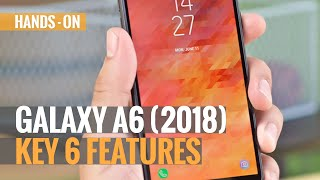 Samsung Galaxy A6 First Look Review