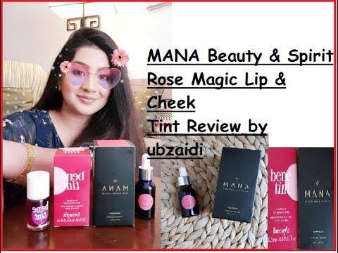 MANA Beauty Spirit Rose Magic Review// Affordable Lip & Cheek Tint// Pakistani Makeup Product Review