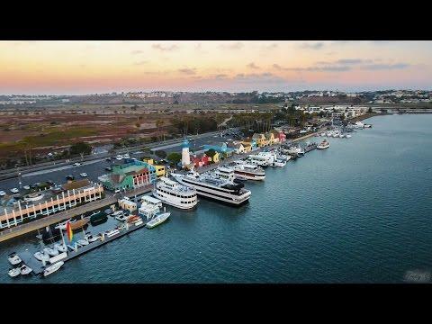 Marina Del Rey Drone View HD - DJI Phantom 4 - Joakim Karud - Dreams