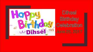 Dihsel 10th Birthday Celebration