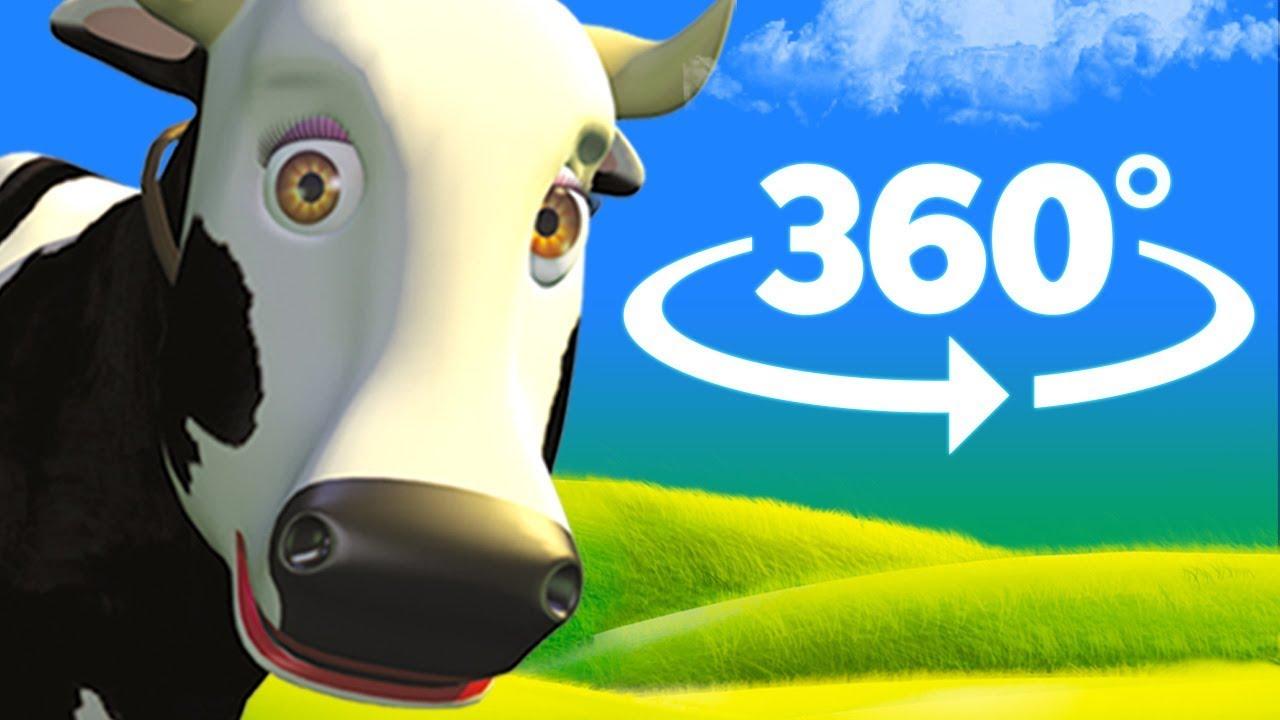 La Vaca Lola - 360 Grados - Canciones de la Granja de Zenón 2