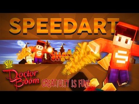 SPEEDART! ShadowZz - 5K Minecraft Animated Banner Contest Entry ★ BEST WORK?!! ★ 40 Likes Please?