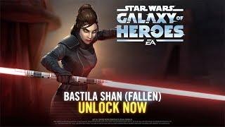 Star Wars: Galaxy of Heroes - Bastila Shan (Fallen) Has Arrived