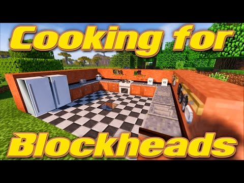 COOKING FOR BLOCKHEADS | Minecraft 1.11.2 Mod Showcase & Tutorial | Feat. Pam's Harvestcraft