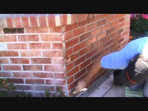 How to apply sealer to a brick wall...Part 2