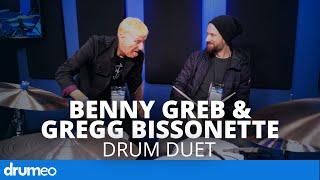 Benny Greb & Gregg Bissonette Drum Duet (Unplanned, Unrehearsed)