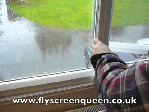 Fly Screen Window Sliding System